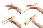 Technique de saisie des baguettes